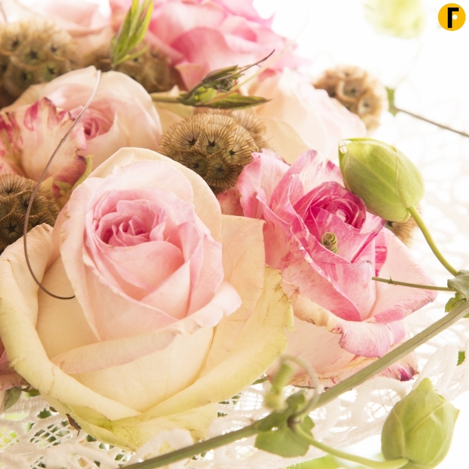 romantic rose design close2